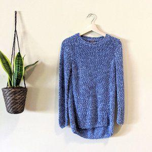 J. McLaughlin Blue Knit Pullover Sweater
